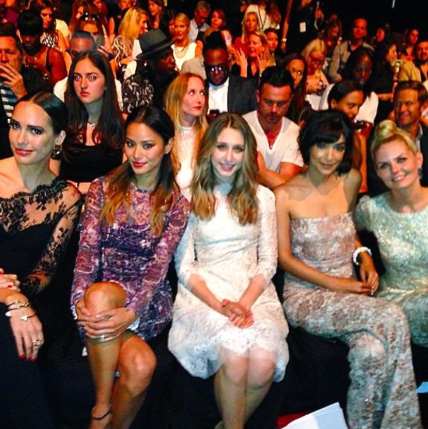 The Most Stylish FROW Moments at NYFW