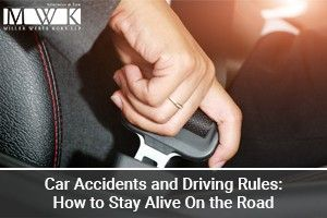 What are the most commonly broken driving rules and traffic regulations that cause car accidents? If you need a lawyer after a car wreck, we can help you.