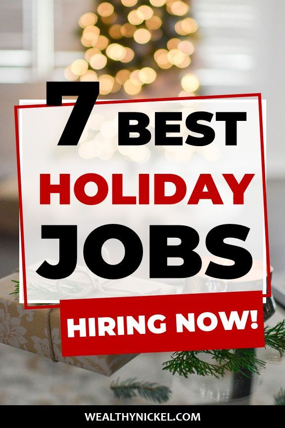 Holiday Jobs For Students Find The Perfect Seasonal Job Holiday Jobs Seasonal Jobs Student Jobs