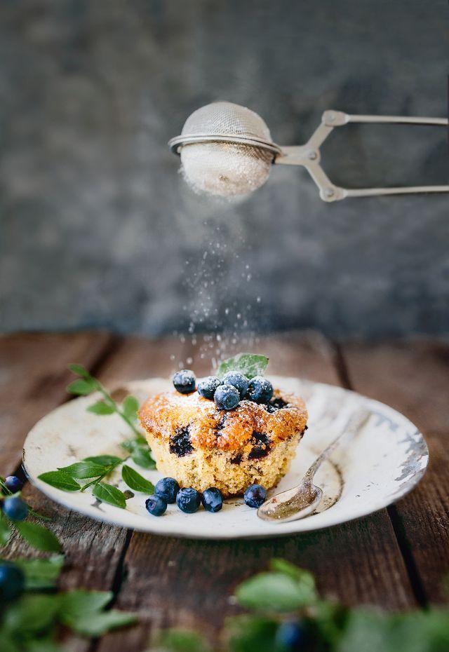 Recept: BLÅBÄRSMUFFINS
