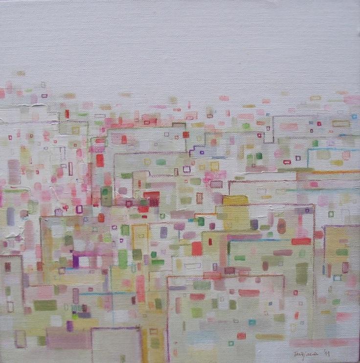 acryl/oil on canvas,30x30cm