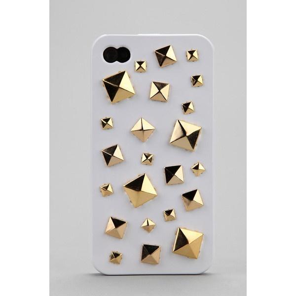 Mixed Stud iPhone 4/4s Case ($36) via Polyvore