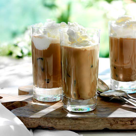 Iskaffe med is - Opskrifter