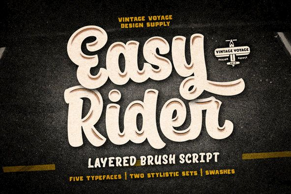 Easy Rider With Images Easy Rider Typeface Typographic