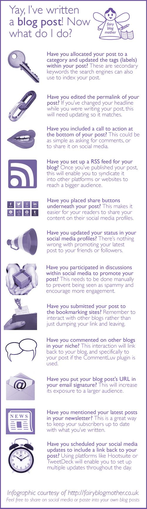 How to Find Readers for Your Blog Posts #Infographic | via #BornToBeSocial