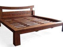 Bett Einzel-Doppelbett Betten Massiv Holzbett