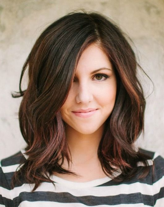 Fall's Hottest Hair Colors...like this style
