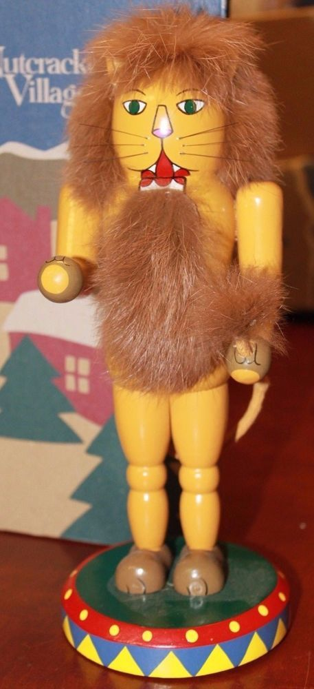 1998 May Department Stores Company Nutcracker Village Circus Lion