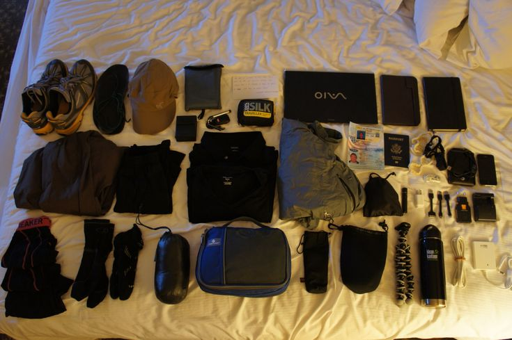 link to an incredibly light traveller - lists everything he took for 12-month RTW trip with only 26kg!