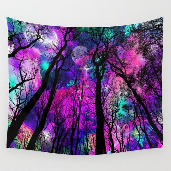 25% OFF + FREE SHIPPING ON ALL WALL TAPESTRIES - SALE ENDS TONIGHT AT MIDNIGHT PT.Magical forest