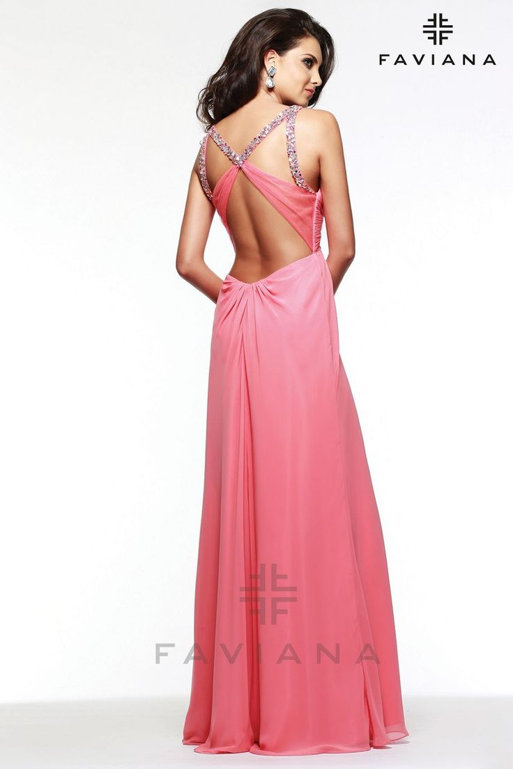 8 best Vestido images on Pinterest | Long party dresses, Party ...