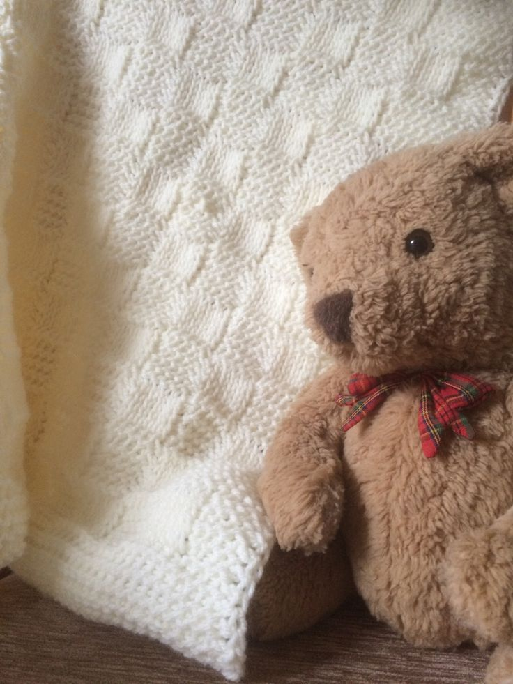 Tunisian crochet pattern by Gill Buckerfield  Introduction The blanket is made using Baby Aran weight yarn and a 7.00mm Tunisian crochet hook. (I used a hook with an extension cable, but it is pos…