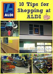 10 tips for shopping at ALDI! What would you add for someone that hasn't ever shopped at an Aldi store before?