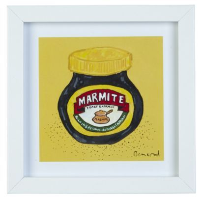 These Marmite and Beans Twin Pack Framed Print are really iconic! #Home #Art