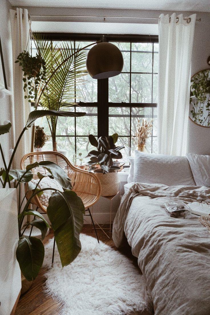 Minimalist Boho Bedroom Decor   Boho bedroom decor, Boho ...