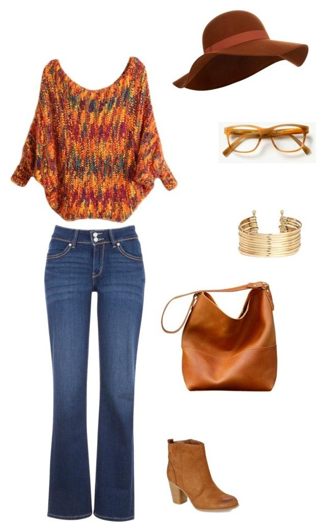Untitled #48 by catarina-teixeira-de-queiros on Polyvore featuring Levi's, Madden Girl, H&M and Accessorize