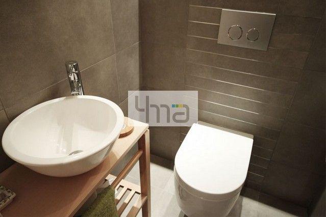 Mieszkanie w Otwocku - http://4ma-projekt.pl dla czteroosobowej rodziny.  Łazienka, bathroom, architektura wnętrz, interiors, architect, home, house, interior, architects, architecture