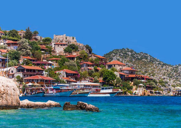 #Kekova Island and Sunken City in #Antalya province, #Turkey