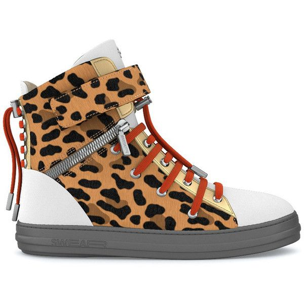 Swear Regent hi-top sneakers ($1,085) ❤ liked on Polyvore featuring men's fashion, men's shoes, men's sneakers, white, mens white high top sneakers, mens white high top shoes, mens high top shoes, mens white sneakers and mens crocodile shoes
