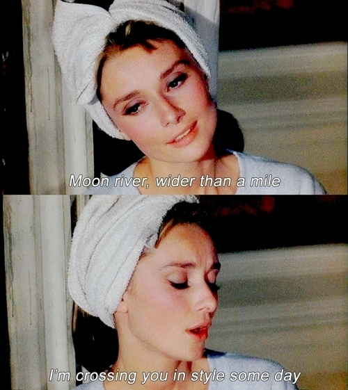 I WILL walk down the aisle to Moon River. No question.