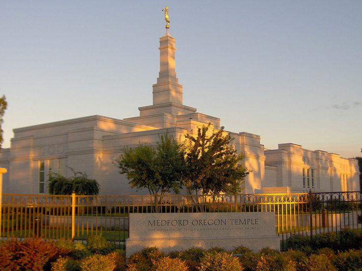 Medford Oregon Temple  Part of a yearly trip with my one and only.