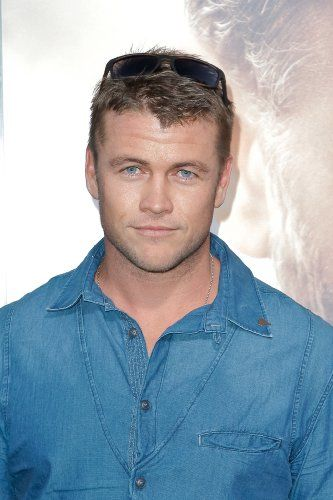 Luke Hemsworth at an event for The Water Diviner (2014)