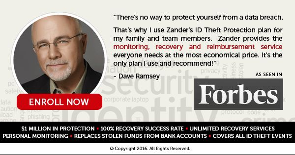 14 best identity theft protection images on pinterest for Zander credit protection