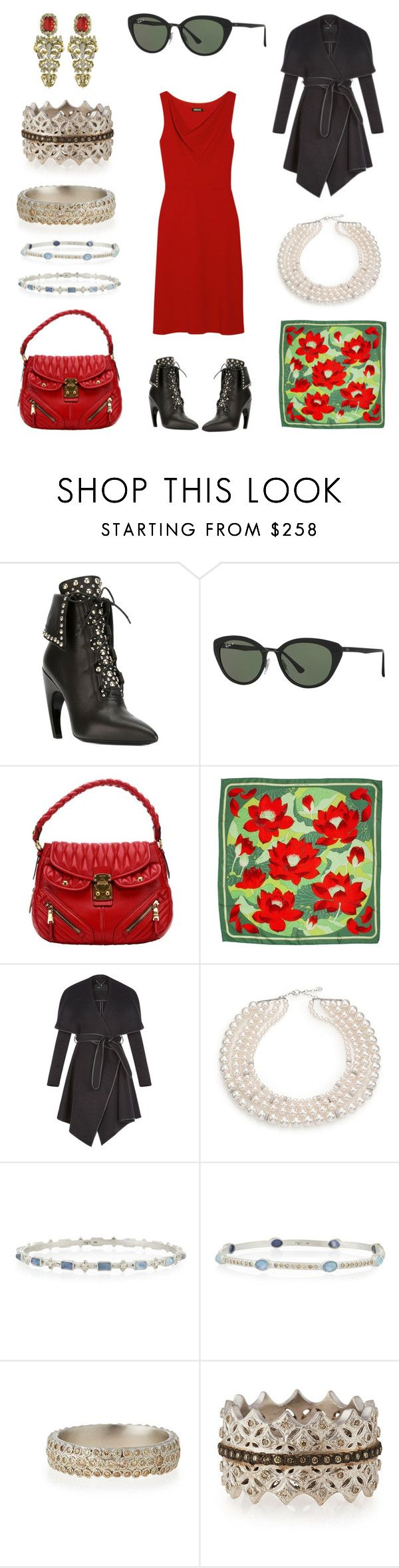 """""""Valencia, Spain"""" by creation-gallery on Polyvore featuring Massimo Dutti, Givenchy, Ray-Ban, Miu Miu, Hermès, BCBGeneration, Majorica, Armenta, Roberto Cavalli and women's clothing"""