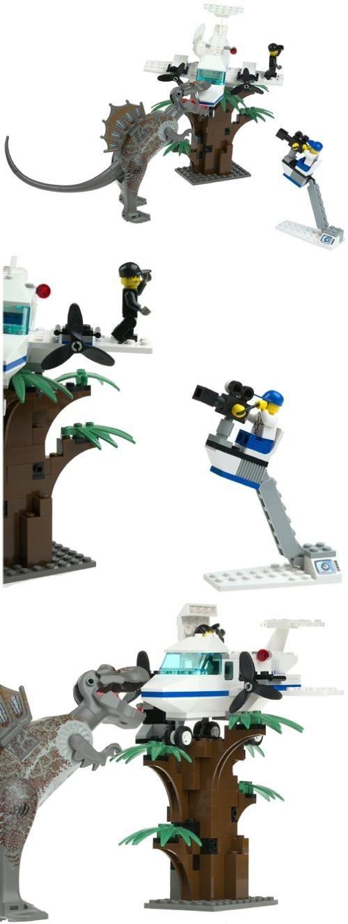 LEGO Studios Set #1371 Spinosaurus Attack Studio Jurassic Park 3, Lego #1371 Spinosaurus Attack Studio, #Toys, #Building Sets