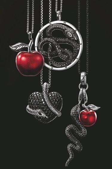 Thomas Sabo-dijes serpiente y manzana