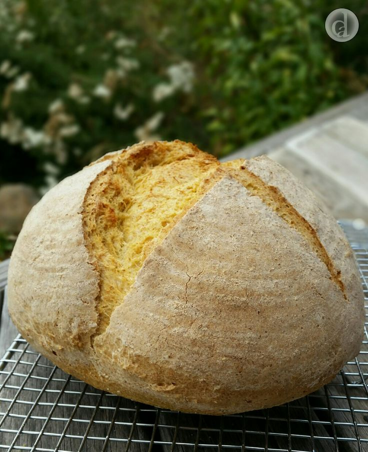 This gluten free Sweet potato sourdough cob loaf was simply delicious! Made with Bakers' Magic gluten free flour.