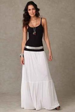 Летняя длинная юбка купить