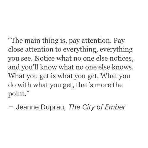 the city of ember // jeanne duprau