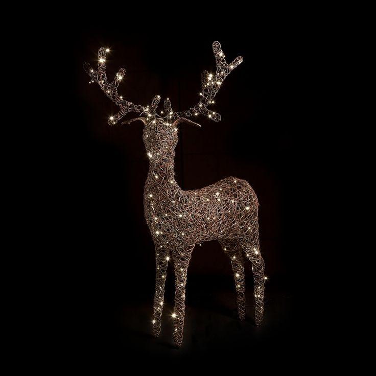 Outdoor Christmas Reindeer - Dobbies Garden Centres ...