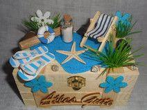 Geschenkbox / Geldgeschenk Urlaub,Reisen,Strand                                                                                                                                                                                 Mehr