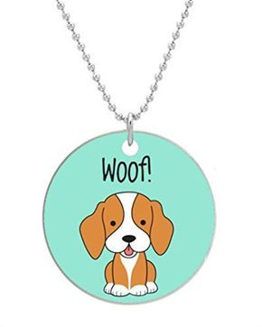 BEAGLE HAPPY PUPPIES - Custom Dog Tag Necklace - http://www.thepuppy.org/beagle-happy-puppies-custom-dog-tag-necklace/