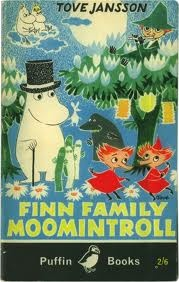 Tove Jansson's 'Finn Family Moomintroll' (UK Puffin edn)