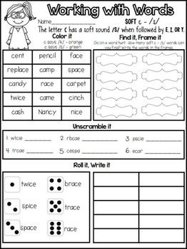117 best images about first grade phonics spelling on pinterest vowel digraphs word families. Black Bedroom Furniture Sets. Home Design Ideas