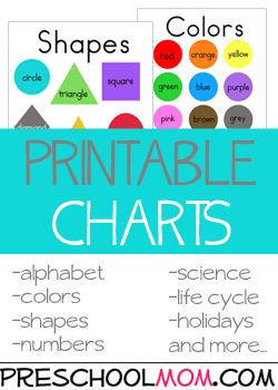 Preschool Color Theme Printables These printables provide children with opportunities to practice and review their basic color knowledge.   Featuring printable charts, wordwall cards, bingo games, file folder games, classroom charts, bookmarks coloring pages and more. Free Preschool Printables at Preschool Mom