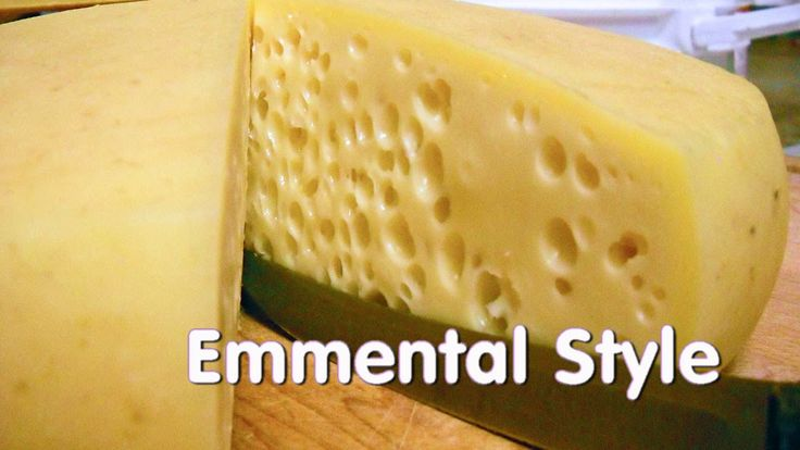 Making Emmentaler (Swiss Cheese) At Home