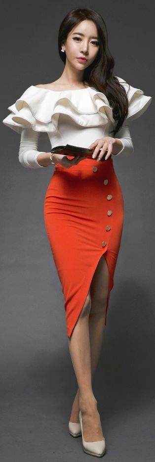 vestidos korea