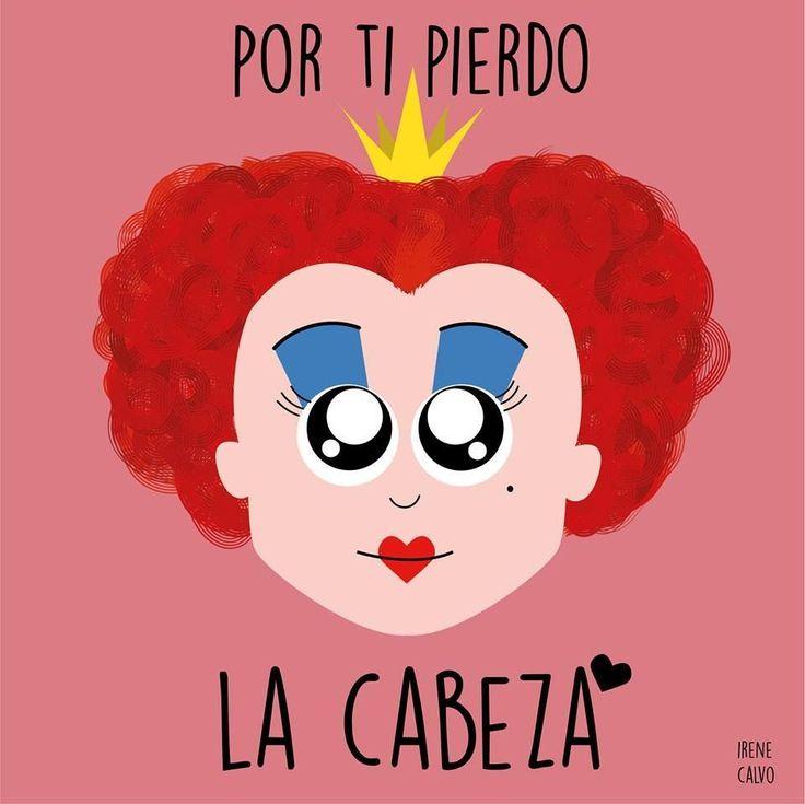 Ilustracion inspirada en Alicia de Irene Calvo