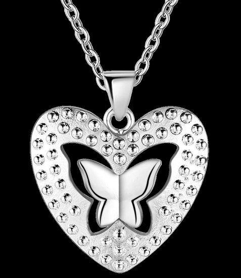 https://www.goedkopesieraden.net/925-Sterling-zilveren-ketting-met-vlinder-in-hart