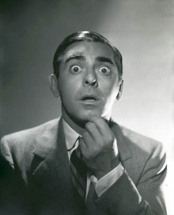 Eddie CANTOR (1892-1964) * AFI Top Actor nominee > Active 1907–62 > Born Edward Israel Itzkowitz, c. Sep 21, 1892, New York > Died Oct 10, 1964 (aged 72) California, heart attack > Other: Comedian, Dancer, Singer-songwriter > Spouse: Ida Tobias (1914–62, her death) > Children 5. Photo: by George Hurrell (1937)