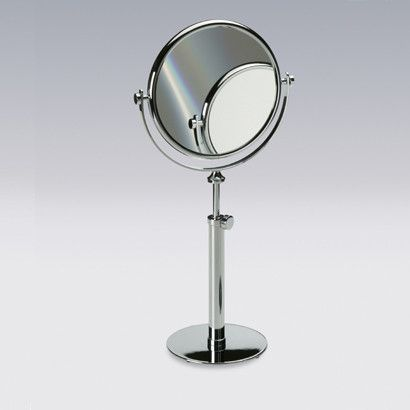 Picture Gallery For Website Tall Pedestal Double Face Magnifying Mirror
