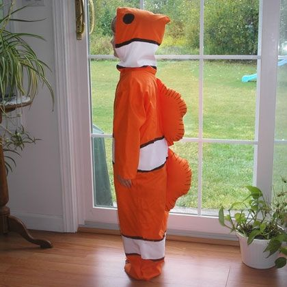 22 best images about fish costumes on pinterest for Clown fish costume
