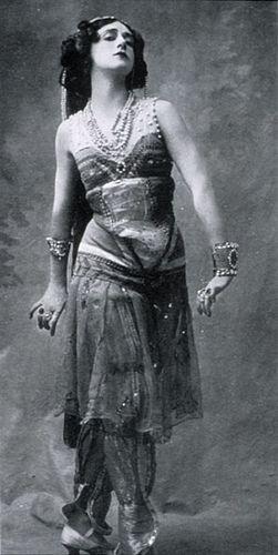 Tamara Karsavina vintage dancer photo by ilyaballet