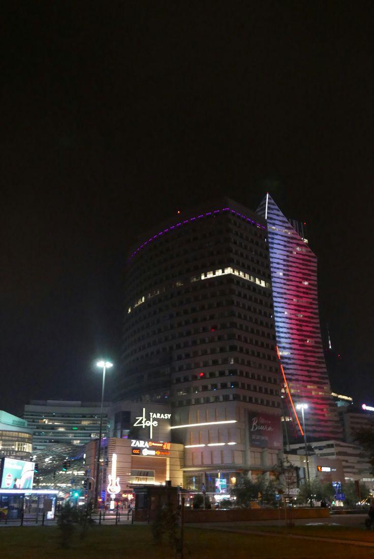 Warszawa nocą - August 2017