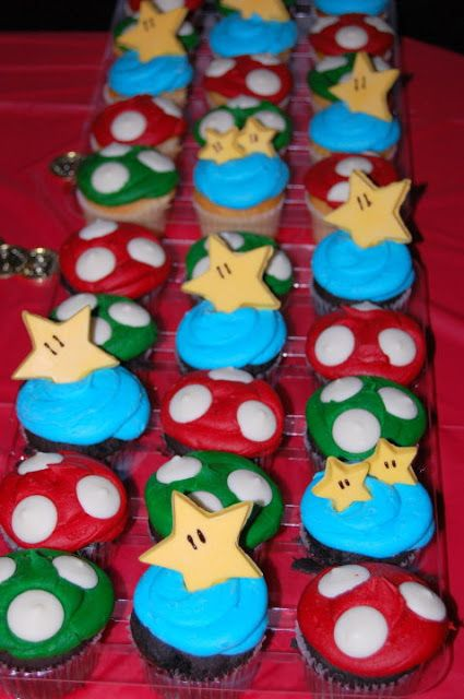 Mario Birthday Party. This site has some cool ideas
