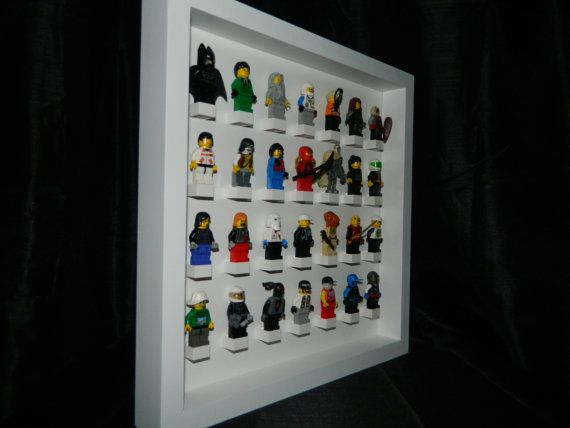 Handmade Display case for LEGO minifigure